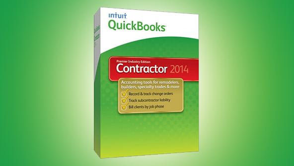 Picture of QuickBooks for Contractors 2014